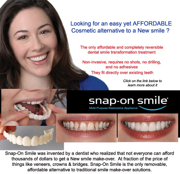 Snap on Smile South West Calgary | Westside Denture Centre
